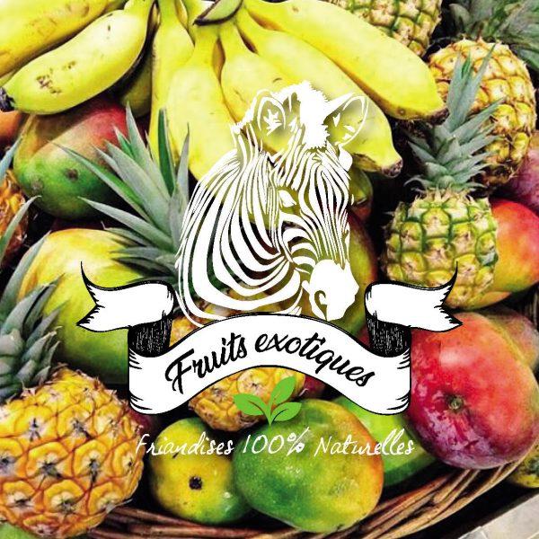 friandise fruits exotiques sucre d'orge