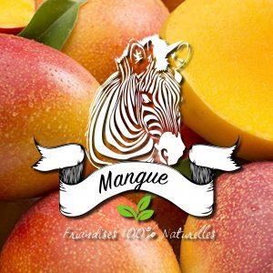De la mangue dans les friandises naturelles sucre d'orge
