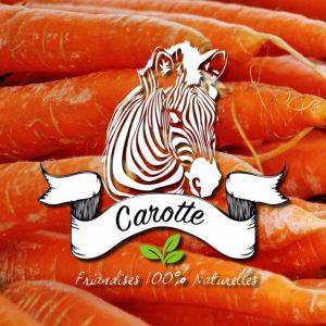 friandise sucre d'orge goût carotte