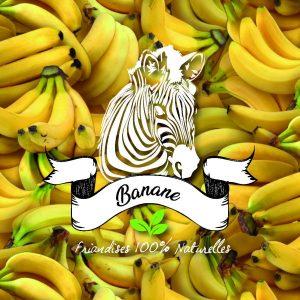 friandises banane sucre d'orge