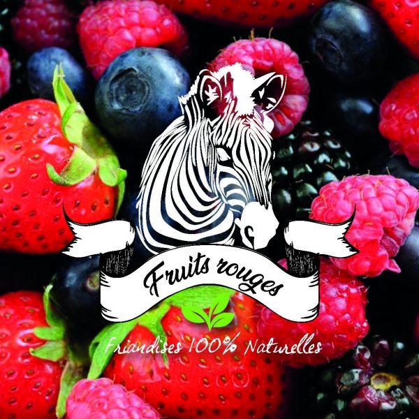 friandises fruits rouges pour chevaux