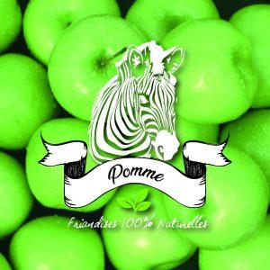 friandises chevaux pomme sucre d'orge