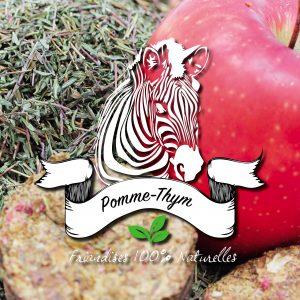 pomme séchée avec du thym chez sucre d'orge