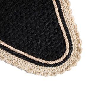bonnet noir et beige taille cheval greenfield sucre d'orge