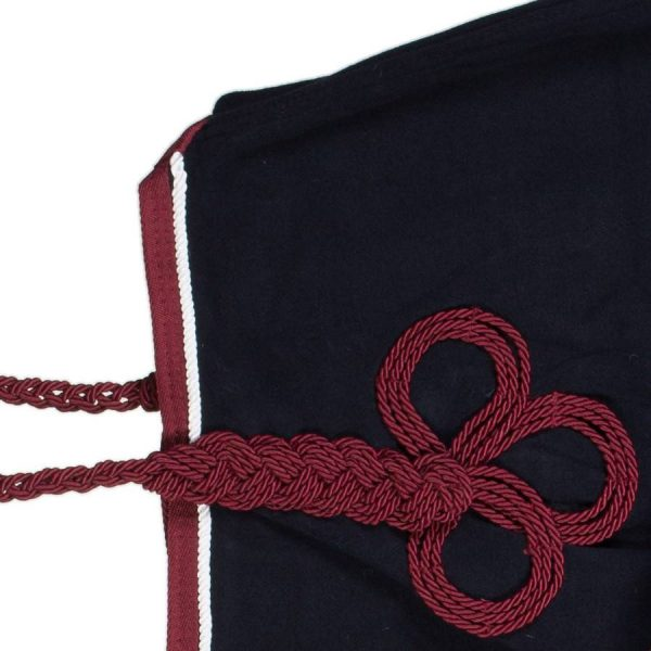 couvre reins polaire marine bordeaux greenfield