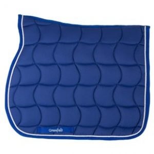 tapis de selle bleu royal greenfield