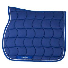 tapis de selle bleu royal greenfield