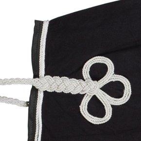 couvre reins noir et blanc greenfield