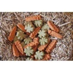 friandises carotte et fleur