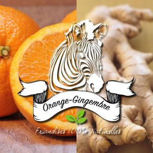 firandises orange gingembre sucre d'orge